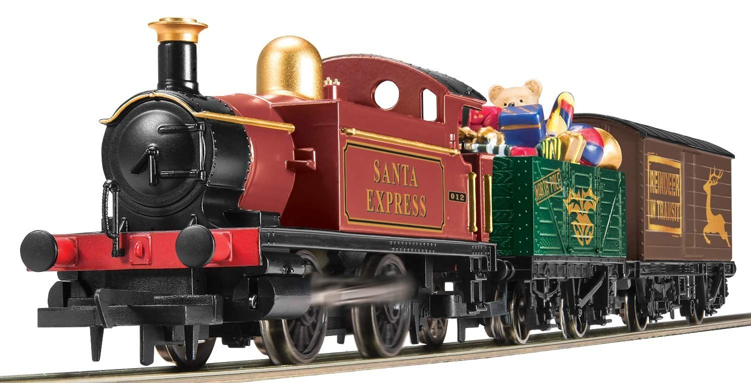 Review The Hornby Santa S Express Train Model Steam 2019