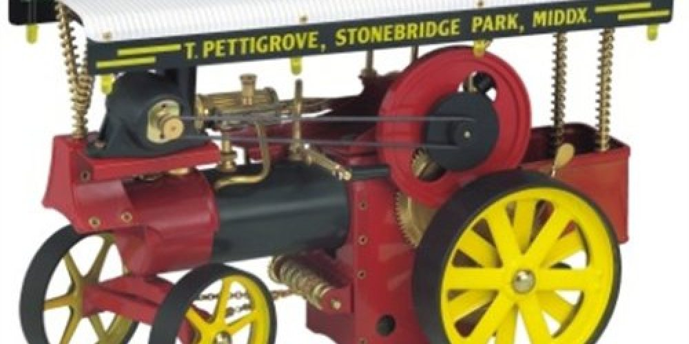 Review: Wilesco Showman's Engine D409