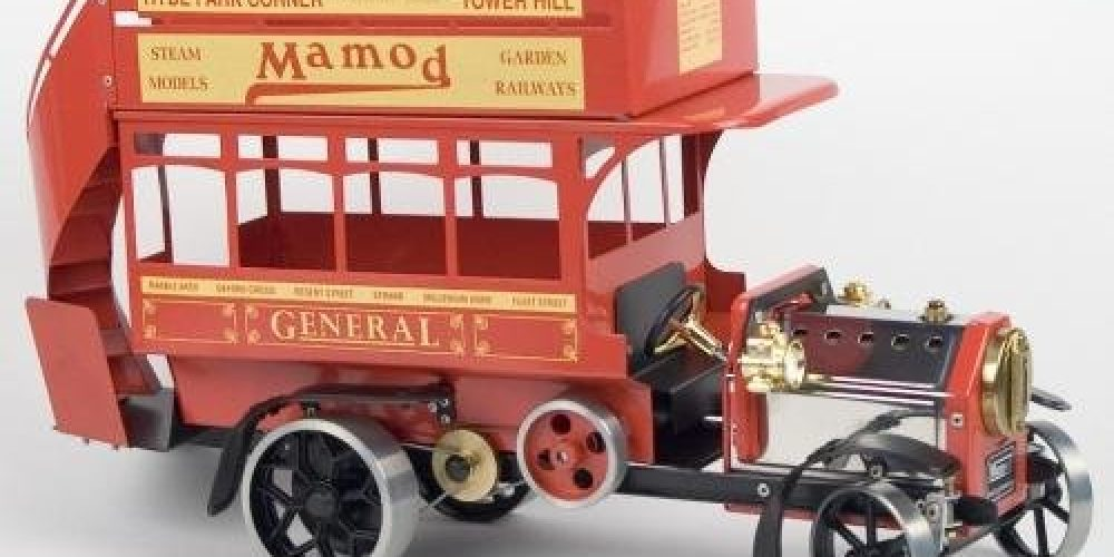 Review: Working Live Steam Mamod 1920's Red London Omnibus LB1R