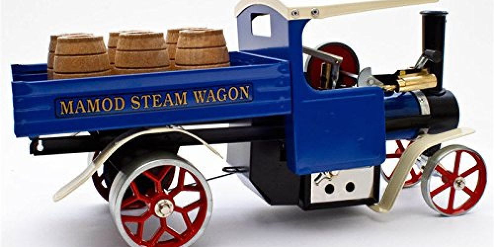 Review: Mamod SW1 Blue Working Live Steam Wagon with Barrels